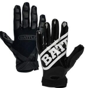 padded football gloves
