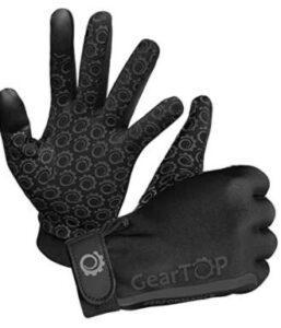 football lineman gloves