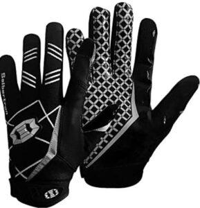 black football gloves