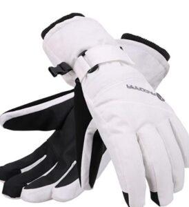andorra women touchscreen snowboarding gloves