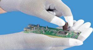 electrostatic discharge gloves