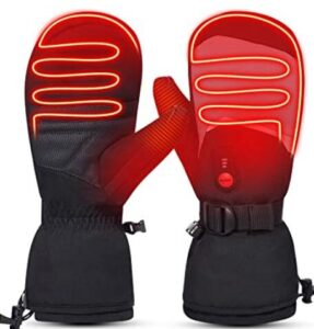 heated thermal snowboard gloves for women