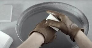 how to disinfect leather gloves