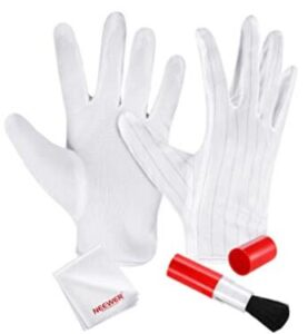 esd safe gloves for cleaning camera