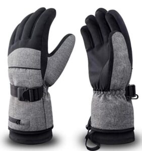 women snowboard gloves for cold weather