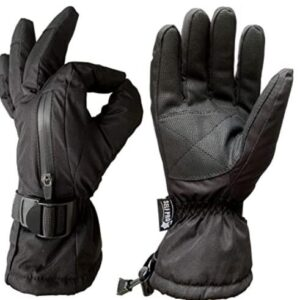 thinsulate snowboard gloves with gauntlet for women