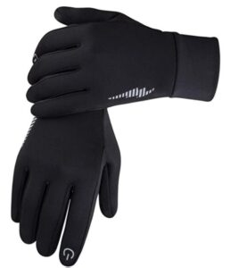 thin but warm gloves