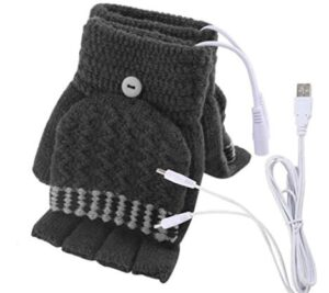 heated typing gloves