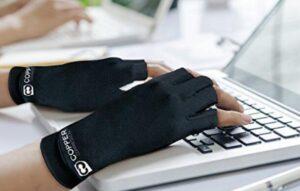 gloves keyboard typing