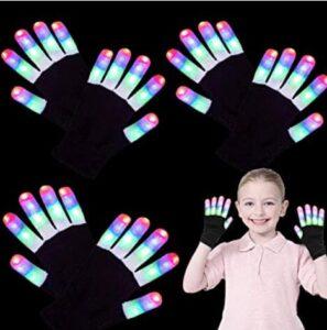 kids light up gloves