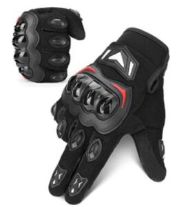 KEMINOTO unisex motorcycle gloves with knuckle protection