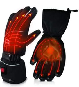 3M Thinsulate heated ski gloves