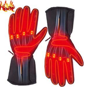 electric heated ski gloves