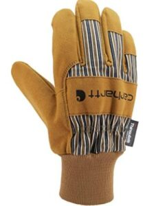 carhartt men's gloves insulated waterproof breathable