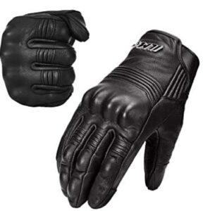 adventure riding gloves with hard shell PVC