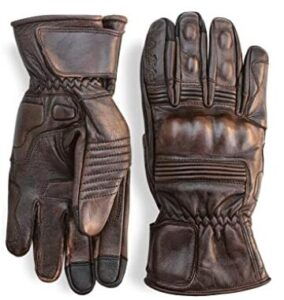 premium leather winter motorcycle gloves