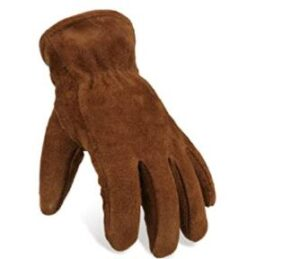 lambswool mens gloves for heavy duty work