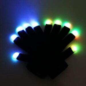 light gloves for raving