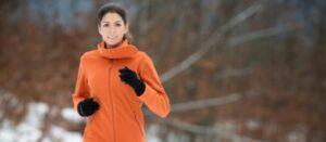 ladies running gloves