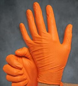 rubber latex free disposable gloves for mechanics
