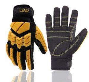 anti vibration rubber hand gloves