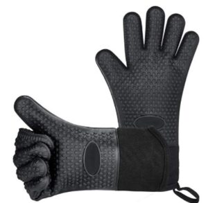grill heat aid gloves with cuff rope