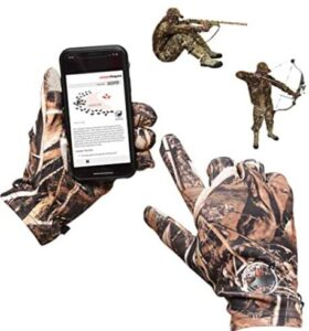 bow hunting gloves for cold weather