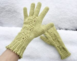 bud gloves knitting pattern