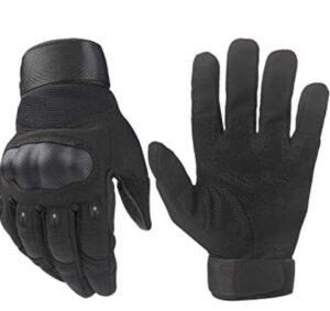 hard knuckle shooting gloves