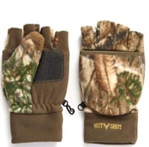 convertible hunting gloves and mittens for cold weather