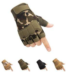 fingerless hunting gloves