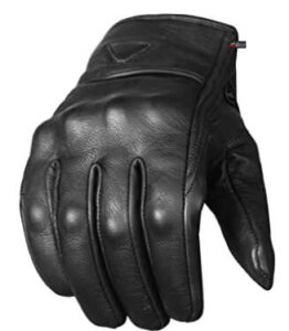 leather motorcycle gloves for men and women