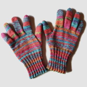 knitted pattern for glove gifts