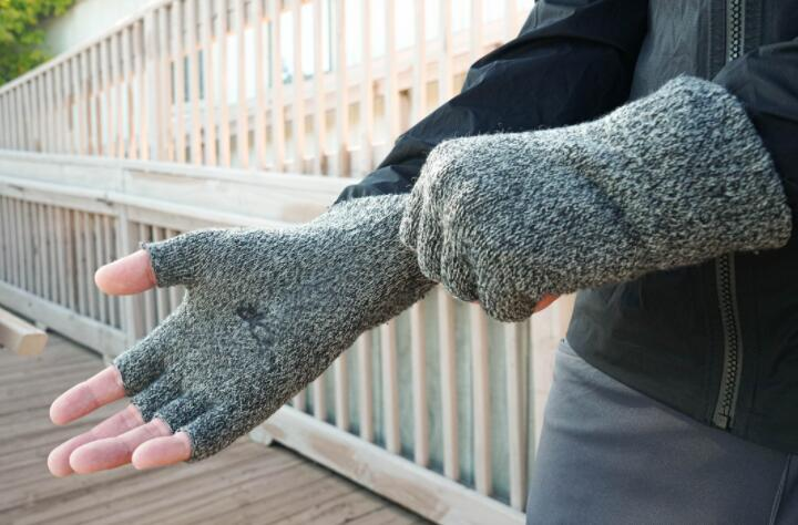 how to sew lined fingerless gloves