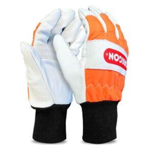 oregon left hand chainsaw gloves