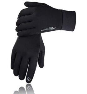 men's lightweight tech running gloves