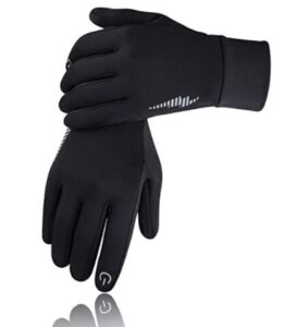 mens thin gloves touch screen for winter