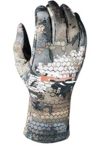 lined hunting gloves for bow and shooting