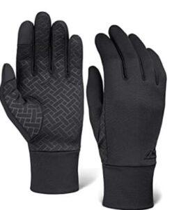 waterproof running gloves mens