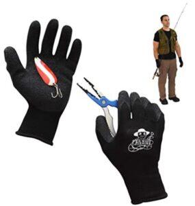warm waterproof fishing gloves