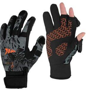 best waterproof ice fishing gloves