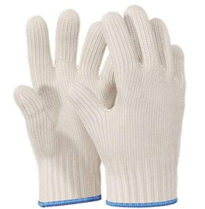 cotton 5 finger gloves for oven and pot