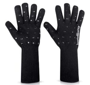 full finger oven gloves with wrist protection