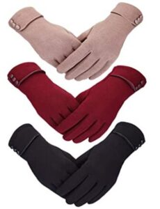 hand gloves for winter womens