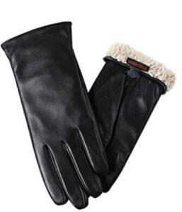 fleece womens gloves