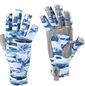 fingerless waterproof fishing gloves