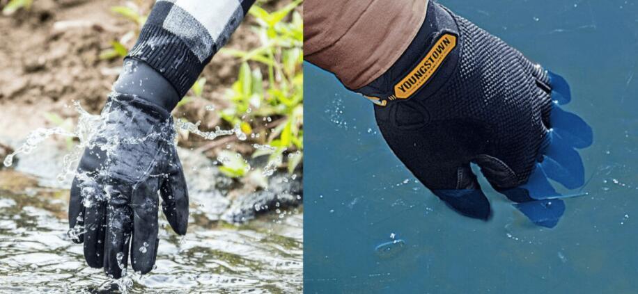waterproof ice fishing gloves